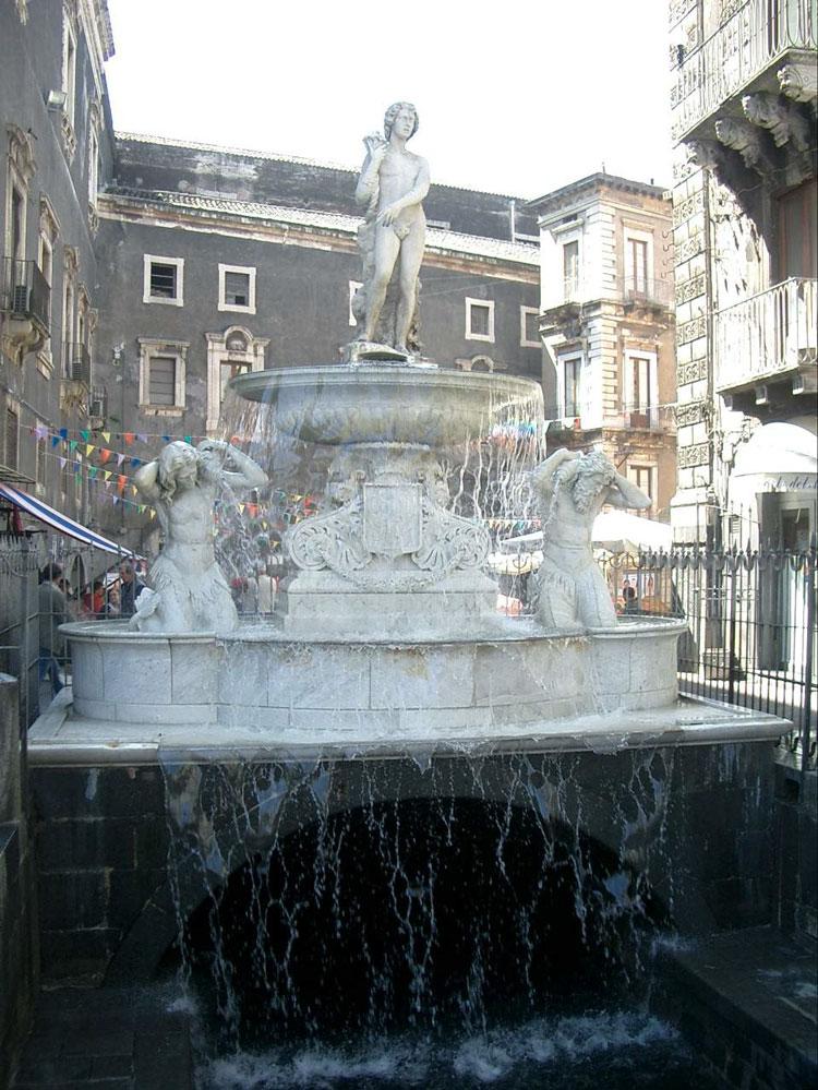 Sicilia musica folk antiche fontane catanesi for Fontane antiche